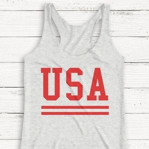 Tops - 4TH THE JULY TANK TOP OR TSHIRT